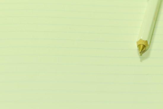 紙とペン 手帳